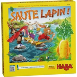 Saute Lapin ! un jeu Haba