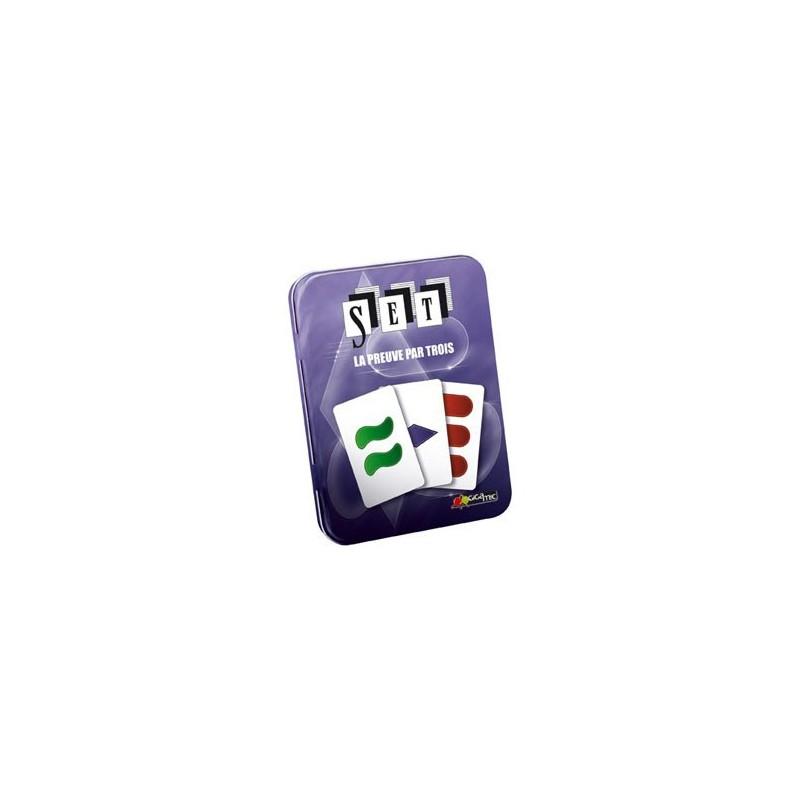 Set - Boite métal un jeu Gigamic