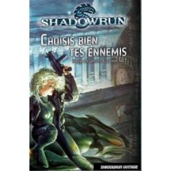 Shadowrun - Choisis bien tes ennemis (roman) un jeu Black Book