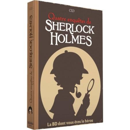 Sherlock - BD dont vous êtes le héros - Tome 2 un jeu Makaka Editions