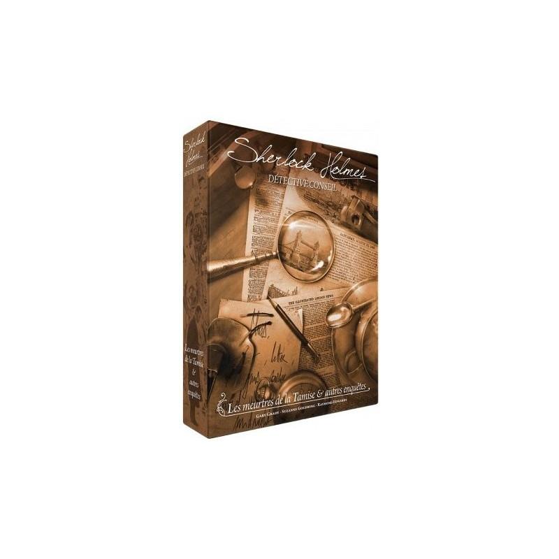 Sherlock Holmes DC - Meurtres de la Tamise un jeu Space cowboys