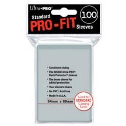 Sleeves pro fit standard 64 x 89 un jeu Ultra pro