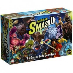 Smash up - La grosse boîte pour geek un jeu Iello