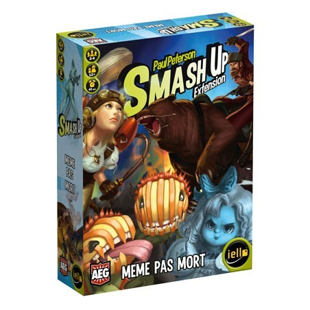 Smash up - Même pas mort un jeu Iello