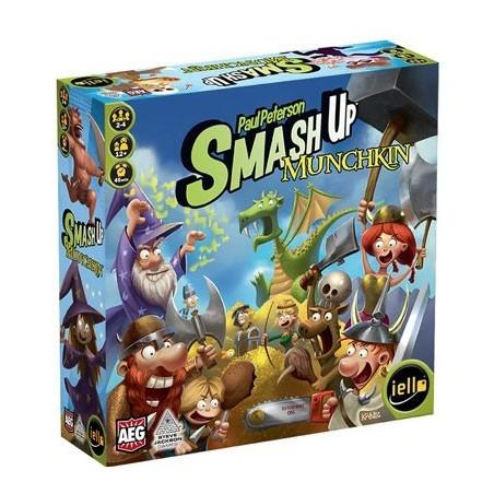 Smash up - Munchkin un jeu Iello