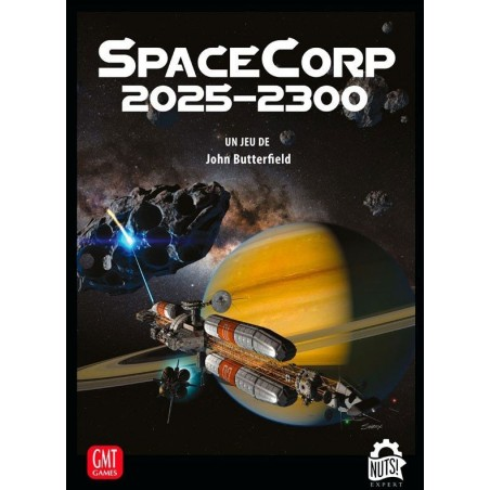 SpaceCorp 2025-2300 un jeu Nuts Publishing
