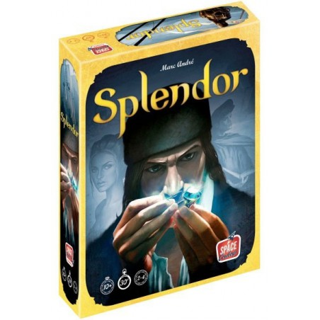 Splendor un jeu Space cowboys