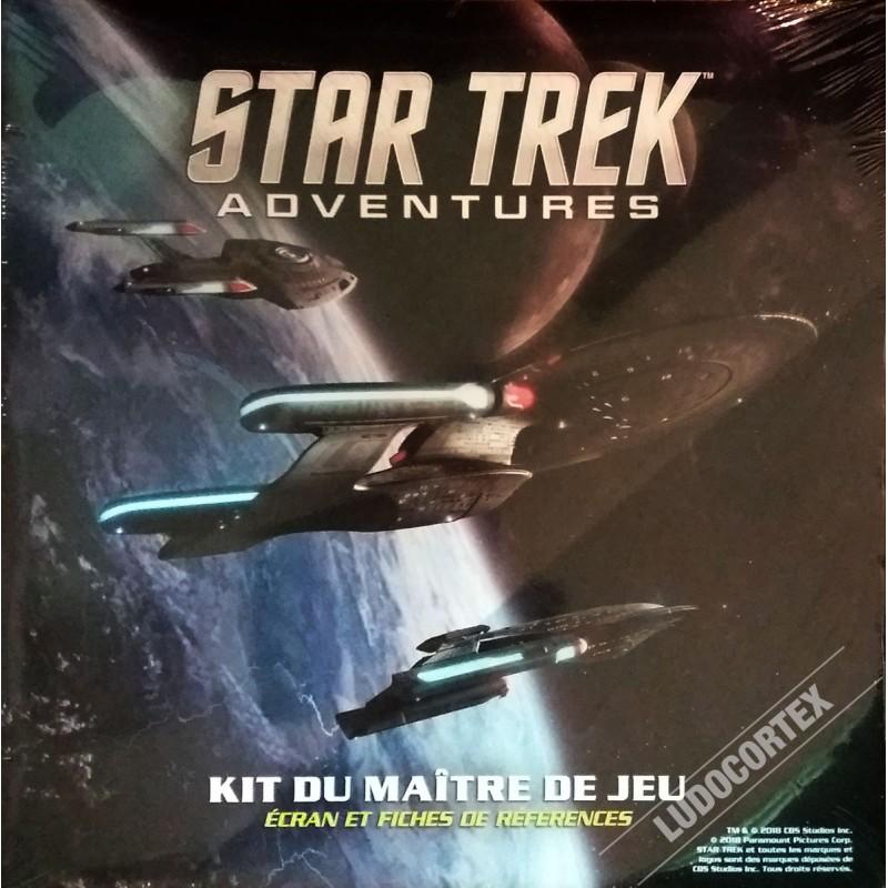 Star Trek - Kit du maître de Jeu un jeu Arkhane Asylum Publishing