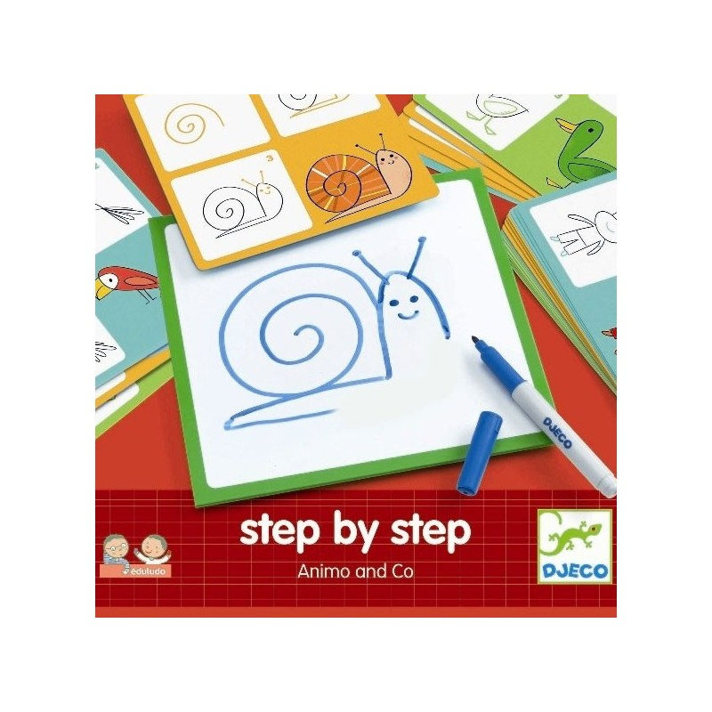 Step by step - Animo and Co un jeu Djeco