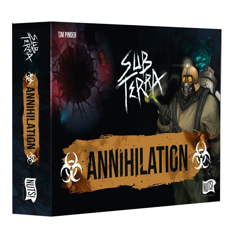 Sub Terra ext 3 Annihilation un jeu Nuts Publishing