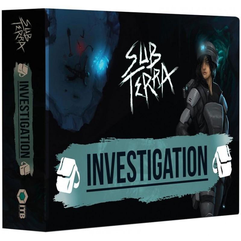 Sub Terra Ext 1 Investigation un jeu Nuts Publishing