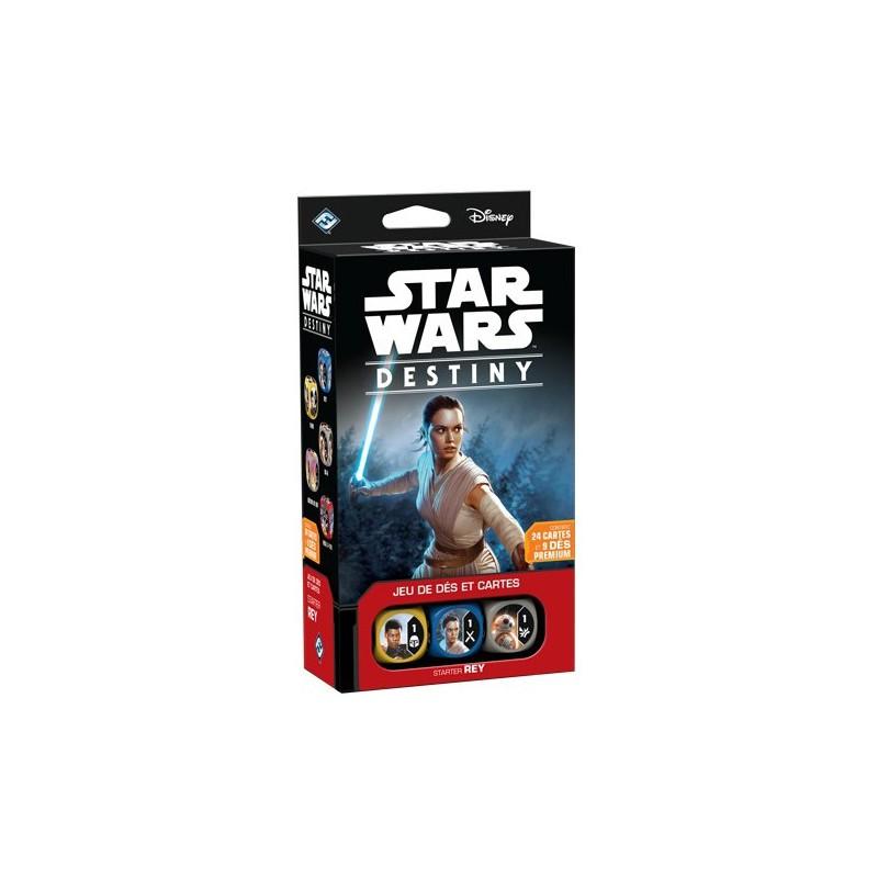 Star Wars Destiny - Starter Rey un jeu Asmodee