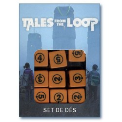 Tales from the Loop - Set de dés (precommande) un jeu Arkhane Asylum Publishing