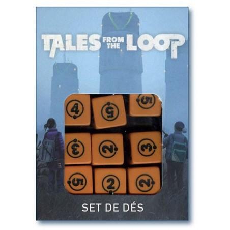 Tales from the Loop - Set de dés (precommande) un jeu Arkhane Asylum Publishing
