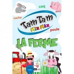 Tam Tam Mix Max La Ferme un jeu AB Ludis Editions