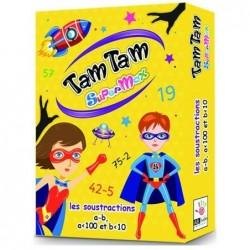 Tamtam Supermax : Les soustractions un jeu AB Ludis Editions