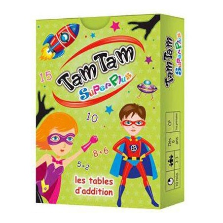Tamtam superplus : les additions un jeu AB Ludis Editions