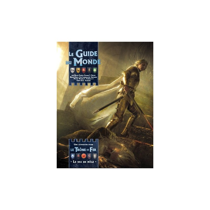 Le Trone de Fer JDR - Le Guide du Monde un jeu Edge