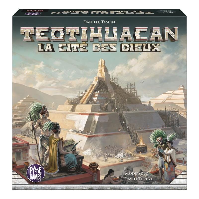Teotihuacan un jeu Pixie Games