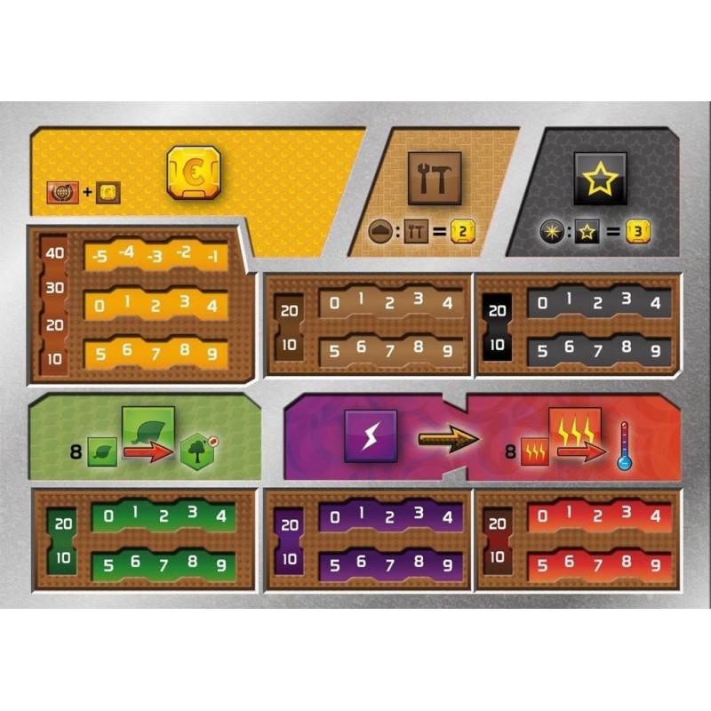 Terraforming mars - Player boards un jeu Intrafin Games