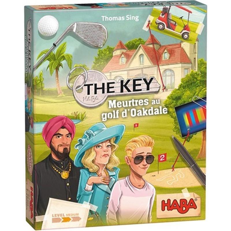 The key - Meurtres au golf d'Oakdale un jeu Haba