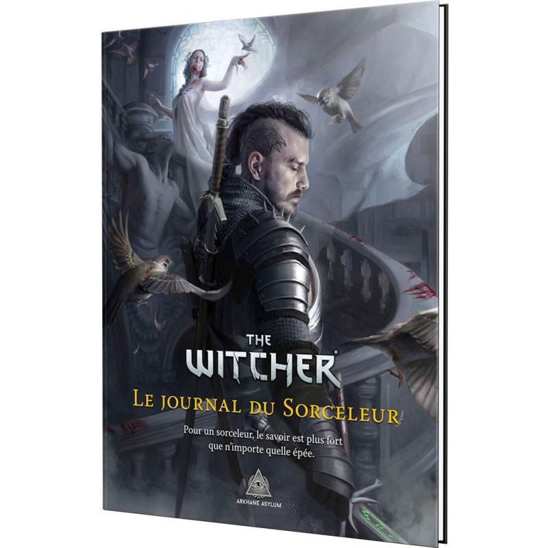 The Witcher : Le Journal du Sorceleur un jeu Arkhane Asylum Publishing