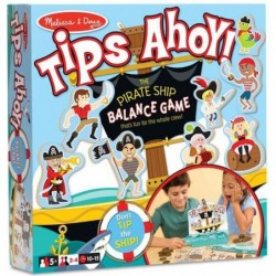 Tips Ahoy - Le jeu d'équilibre de bateau de pirates un jeu Melissa & Doug