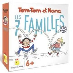 Tom-tom et nana - Les 7 familles un jeu Bayard Jeux