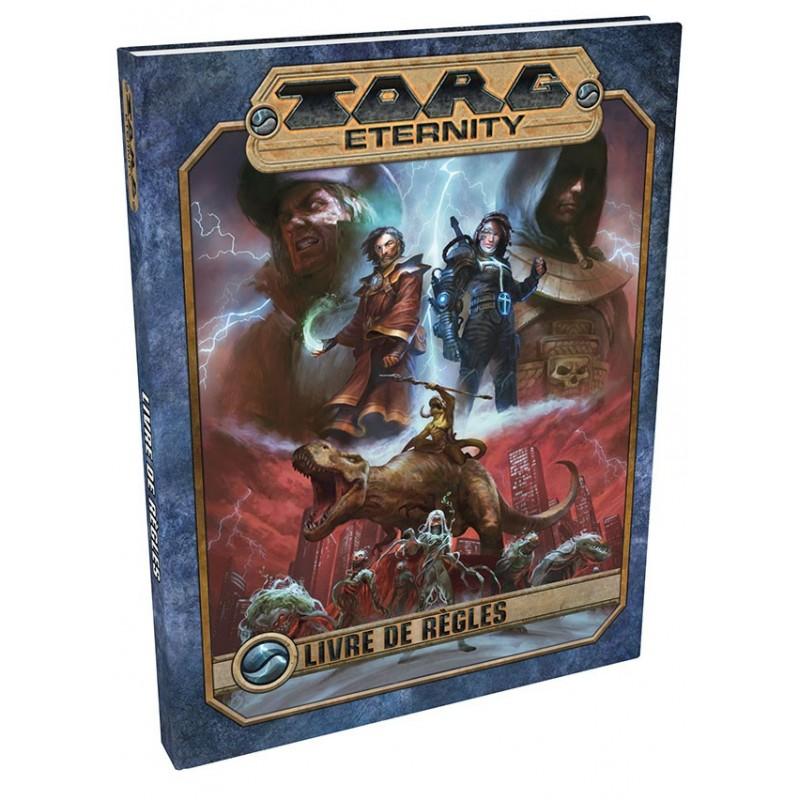 Torg eternity - Livre des règles un jeu Black Book