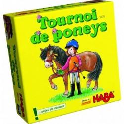 Tournoi de poneys un jeu Haba