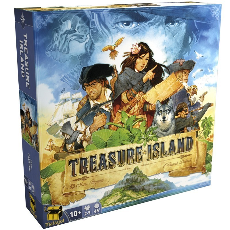 Treasure Island un jeu Matagot