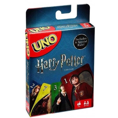 Uno Harry Potter un jeu Mattel