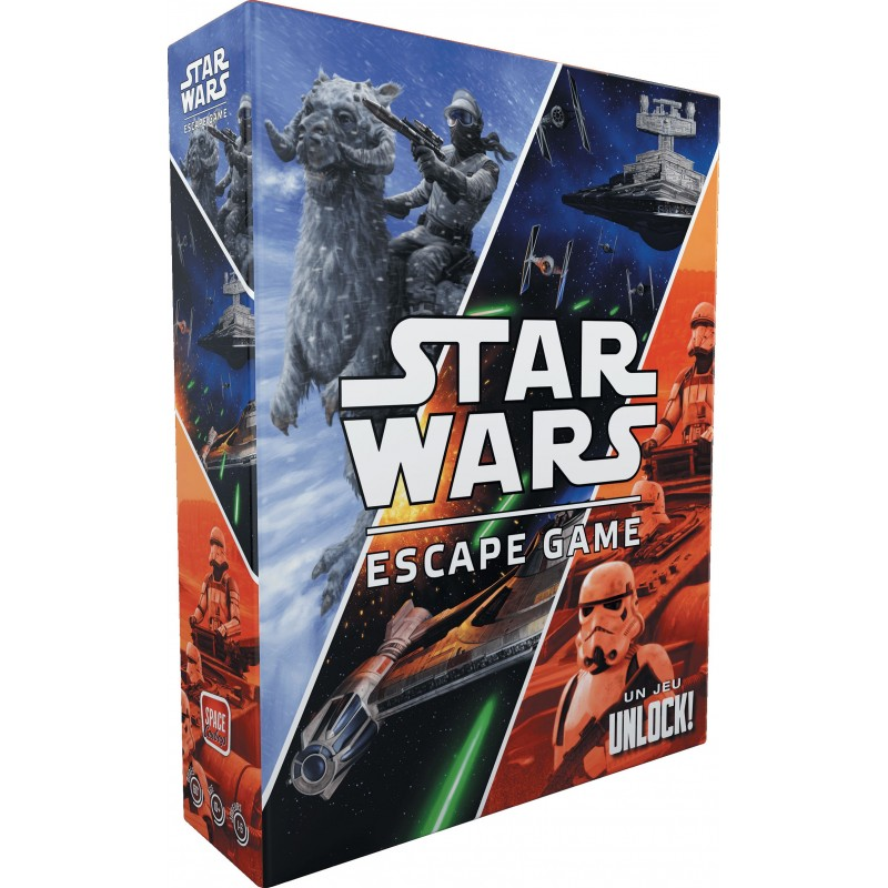 Unlock - Star Wars un jeu Space cowboys