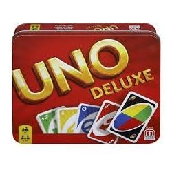 Uno Deluxe un jeu Mattel