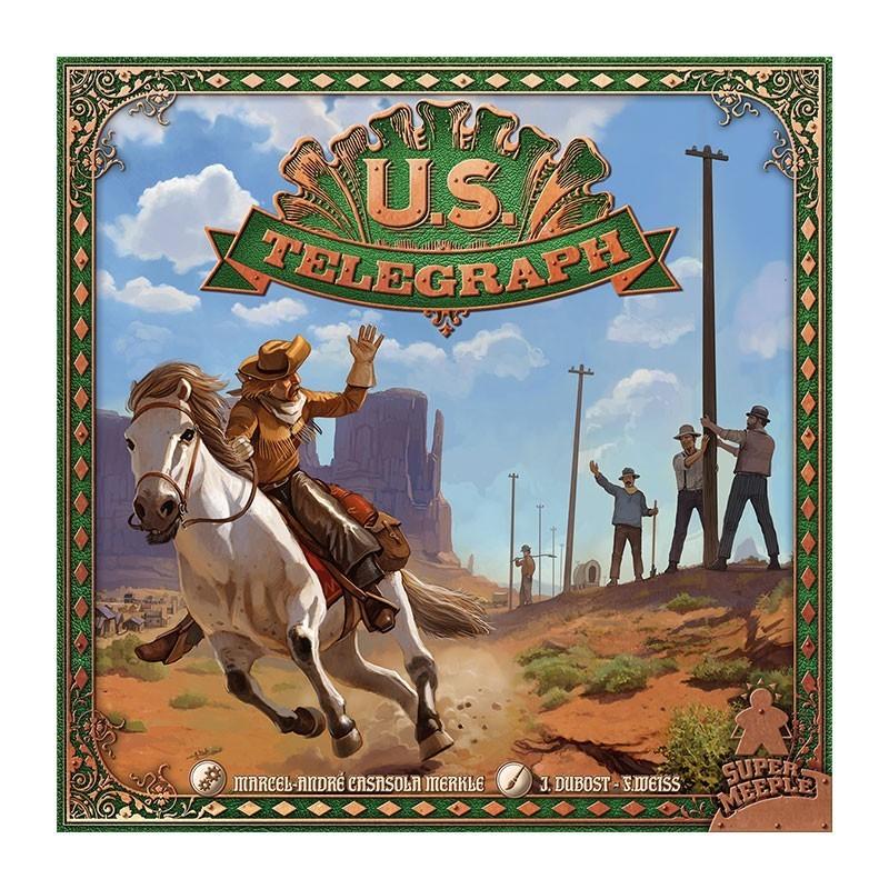 US Telegraph un jeu Super Meeple