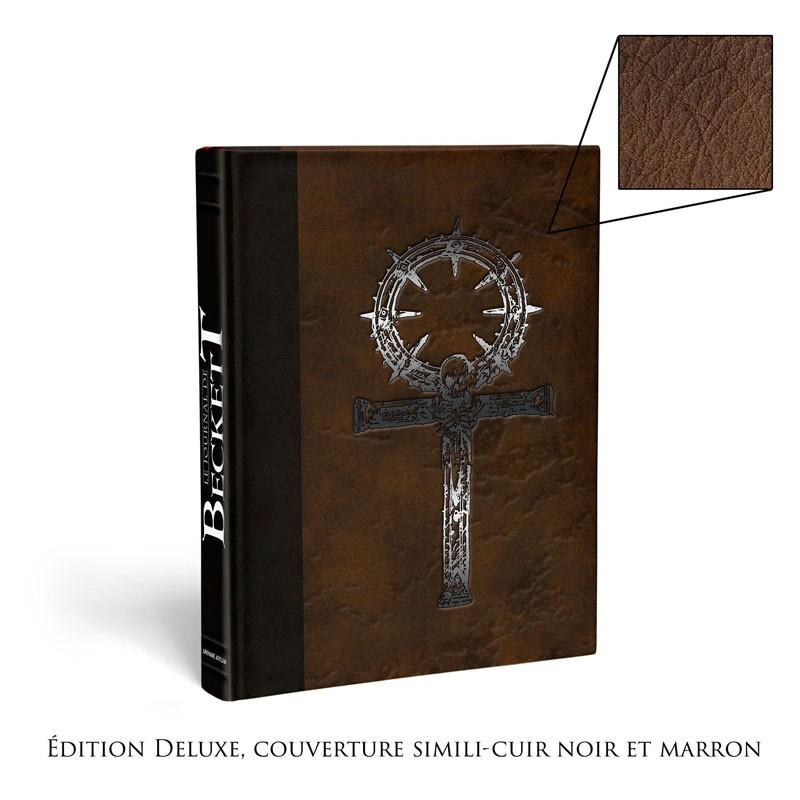 Vampire la mascarade V5 - Le journal de Beckett Version Collector un jeu Arkhane Asylum Publishing