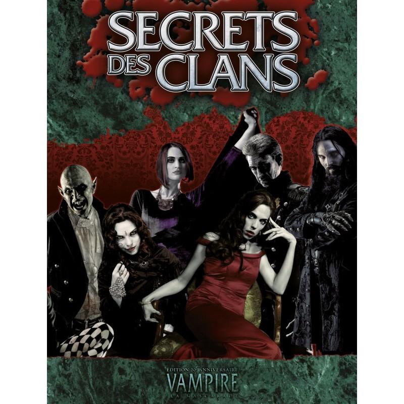 Secrets des clans un jeu Arkhane Asylum Publishing