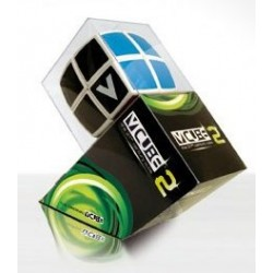 V-CUBE - Cube 2x2 Bombé Blanc un jeu V-Cube