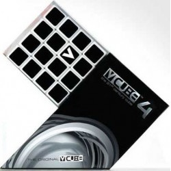 V-CUBE - Cube 4x4 Plat Blanc un jeu V-Cube
