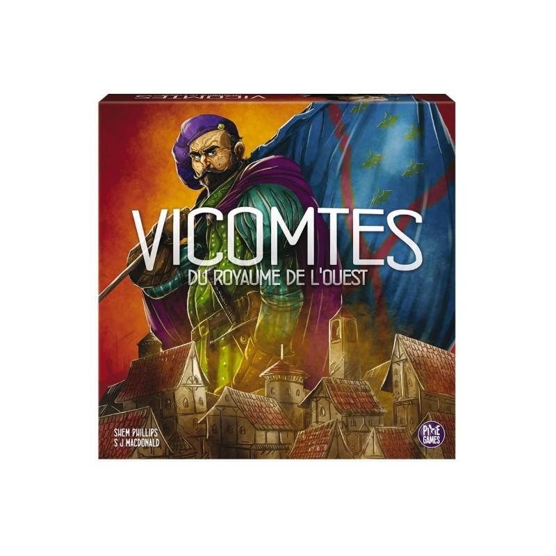 Vicomtes du royaume de l'Ouest un jeu Pixie Games
