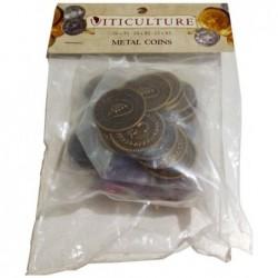 Viticulture - Metal coins un jeu Stonemaier games