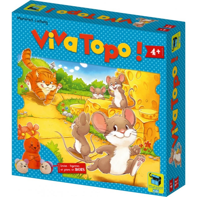 Viva topo ! un jeu Matagot