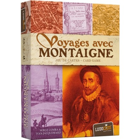Voyages avec Montaigne un jeu Ludocom Editions