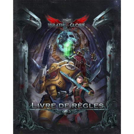 Warhammer 40k Wrath and Glory (précommande) un jeu Khaos Project