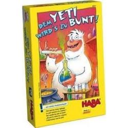Le Yeti Annonce La Couleur un jeu Haba