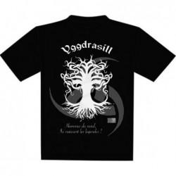 T-Shirt - Yggdrasill - Taille XL un jeu 7ème cercle