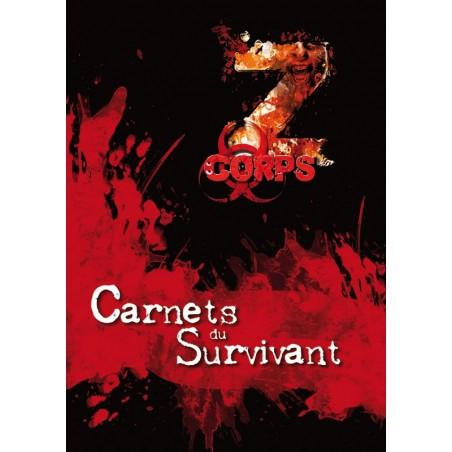 Z-corps - Carnets du Survivant un jeu 7ème cercle