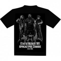T-Shirt - Z-Corps - Etat d'Alerte 101 - Taille XL un jeu 7ème cercle