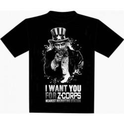 T-Shirt - Z-Corps - Uncle Sam - Taille XL un jeu 7ème cercle