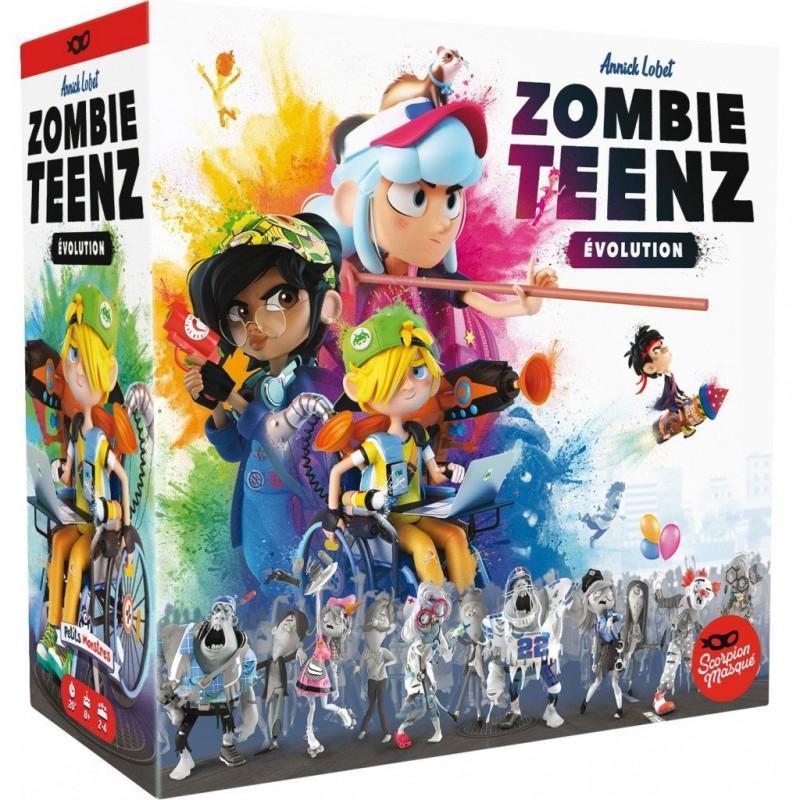 Zombie Teenz Evolution un jeu Le Scorpion Masqué